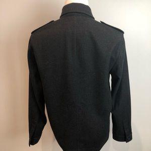cf8f0eef0ce37 Banana Republic Jackets   Coats – Military Banana Republic Wool Jacket Men s  Medium. Stand Collar Single Breasted Long Wool Coat Men